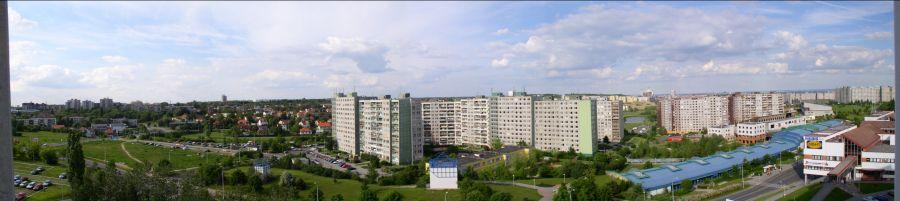 Výhled z Trávníčkové (07/2006)